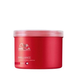 Wella Brilliance Maschera Capelli Grossi 500 Ml
